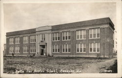 Butte des Mortes School Postcard