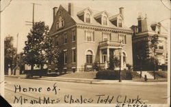 Home of Mr. and Mrs. Charles Todd Clark