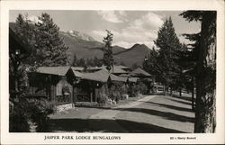 Jasper Park Lodge Bungalows