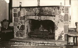 Fireplace of Friendship and Many Faces, Limberlost Cabin, Home of Gene Stratton-Porter