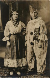 Portrait of Couple in Costume (Ava & Harrie)