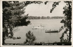 Balsam Lake at Gustafson's Resort