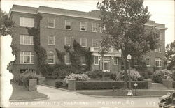 Madison Community Hospital Postcard
