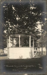 Band Stand, Capron, Ill.