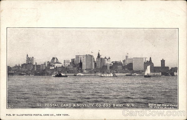 View of New York From North River New York City