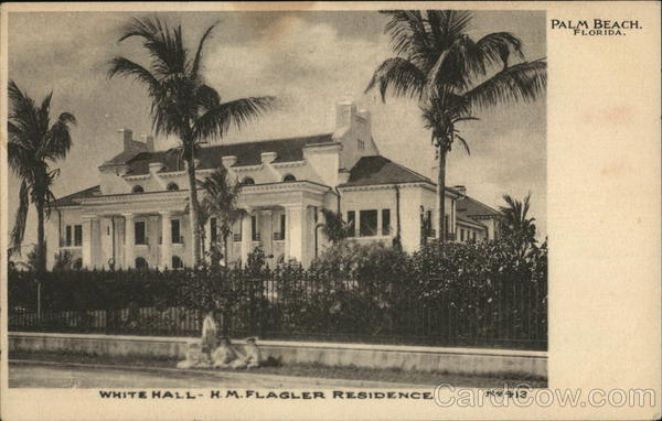 White Hall - H.M. Flager Residence Palm Beach Florida