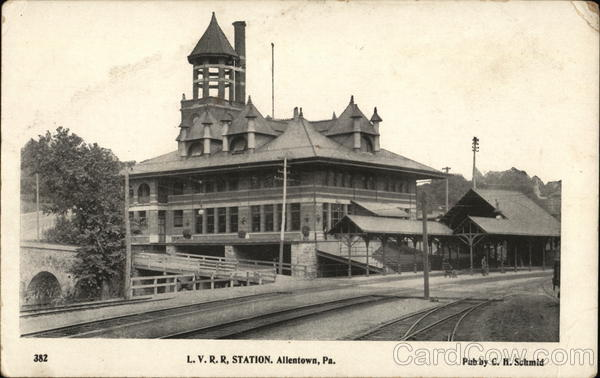 L.V.R.R. Station Allentown Pennsylvania