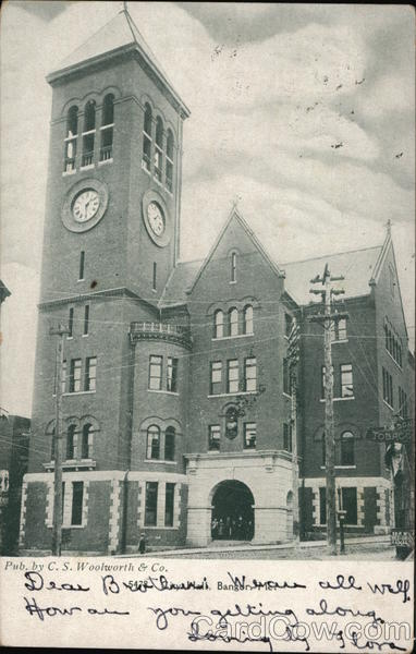 City Hall Bangor Maine