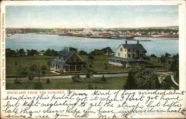 Rockland From the Samoset Maine