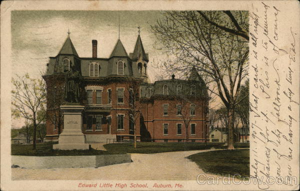 Edward Little High School Auburn Maine