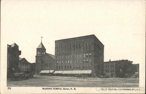 Masonic Temple Dover New Hampshire