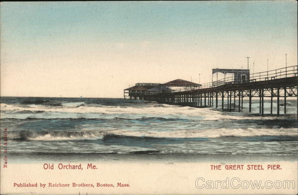 The Great Steel Pier Old Orchard Beach Maine