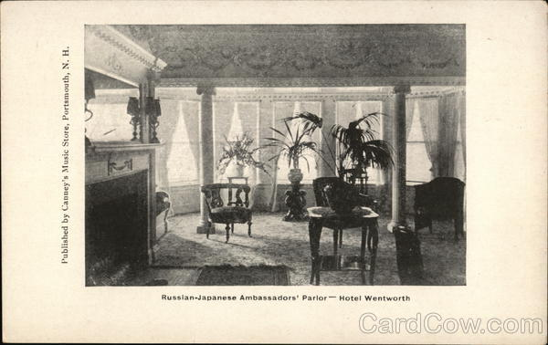 Russian-Japanese Ambassadors' Parlor Portsmouth New Hampshire