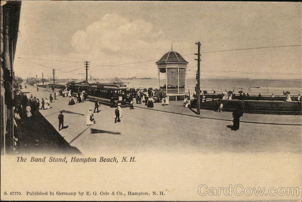 The Band Stand Hampton Beach New Hampshire