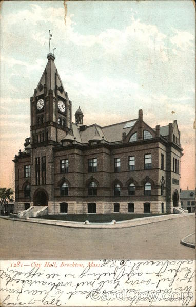 City Hall Brockton Massachusetts