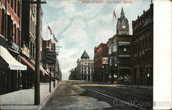 High Street Holyoke Massachusetts
