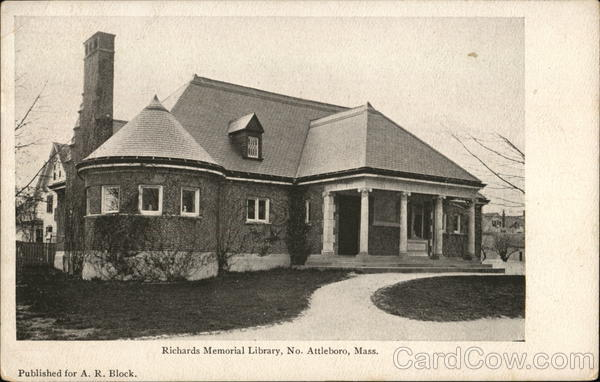 Richards Memorial Library North Attleborough Massachusetts