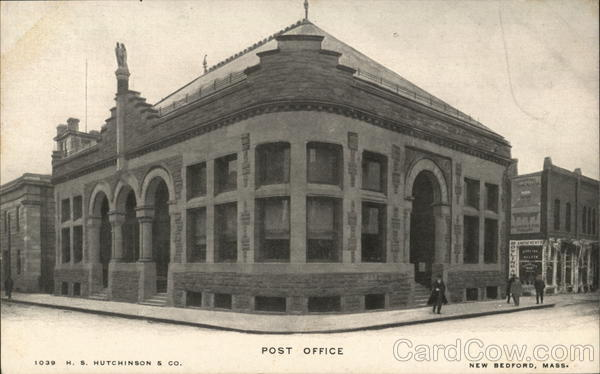 Post Office New Bedford Massachusetts