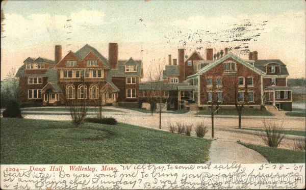 Dana Hall Wellesley Massachusetts