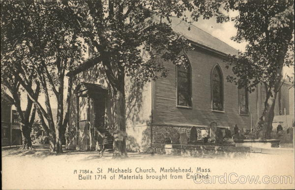 St. Michaels Church Marblehead Massachusetts