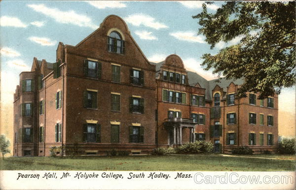 Pearson Hall, My. Holyoke College South Hadley Massachusetts