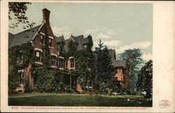 President Seelve's Residence and Hillyer Art Gallery, Smith College