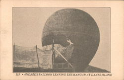Anrees Balloon Leaving the Hangar