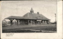 The Delaware and Hudson Station