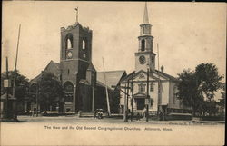The New and the Old Second Congregational Churches