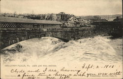 Arch and Toll Bridges Postcard