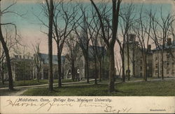 College Row, Wesleyan University