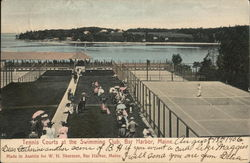 Tennis Courts at the Swimming Club