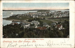 Bar harbor from Eden Heights