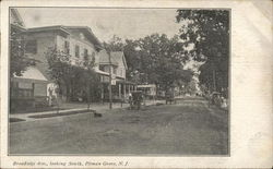 Broadway Ave., Looking South, Pitman Grove