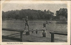 Bathing at Alcyon Park