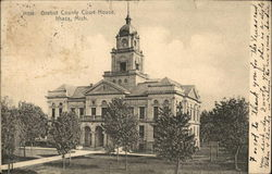 Gratiot County Court House Postcard