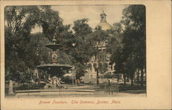 Brewer Fountain, The Common