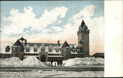 The Union Station in Winter