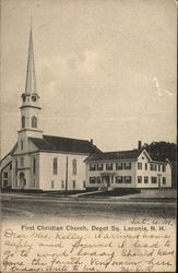 First Christian Church, Depot Sq.