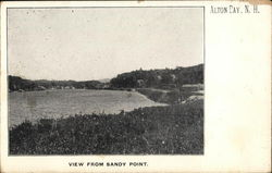 View From Sandy Point Postcard