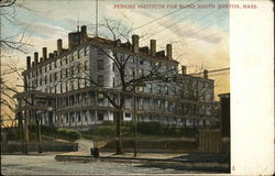 Perkins Institute for Blind Postcard