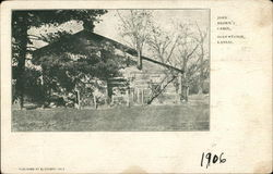 John Brown's Cabin Postcard