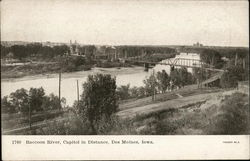 Raccoon River, Capitol in Distance