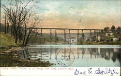 Mass. Central R.R. Bridge and Dam