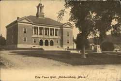 The Town Hall Postcard