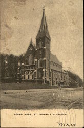 St. Thomas R.C. Church Postcard