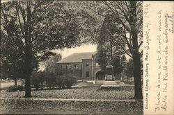 Goodnow Library Postcard