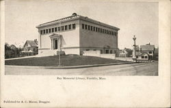 Ray Memorial Library Postcard