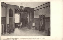Dutch Suite, View 1, Woman's Club Building