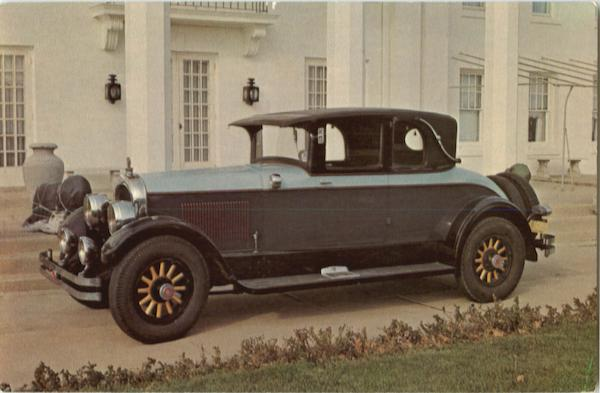 1925 Marmon Opera Coupe Cars